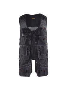Blåkläder 3100-1380 Waistcoat - Black