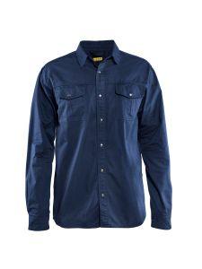 Blåkläder 3297-1135 Twill Shirt - Navy