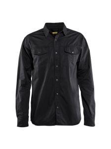 Blåkläder 3297-1135 Twill Shirt - Black