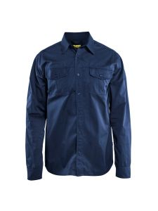 Blåkläder 3298-1190 Twill Shirt - Navy