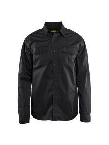 Blåkläder 3298-1190 Twill Shirt - Black