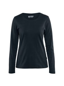 Blåkläder 3301-1032 Women's T-shirt l/s - Dark Navy