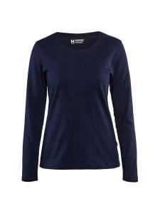 Blåkläder 3301-1032 Women's T-shirt l/s - Navy