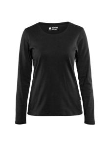 Blåkläder 3301-1032 Women's T-shirt l/s - Black