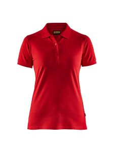 Blåkläder 3307-1035 Women's Pique Polo Shirt - Red