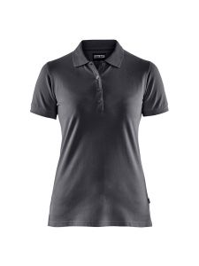 Blåkläder 3307-1035 Women's Pique Polo Shirt - Dark Grey