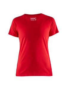 Blåkläder 3334-1042 Women's T-shirt - Red