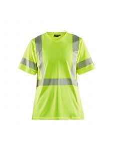 Ladies High Vis T-shirt 3336 High Vis Geel - Blåkläder