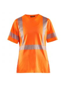 Ladies High Vis T-shirt 3336 High Vis Oranje - Blåkläder