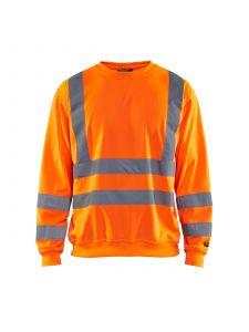 Sweatshirt High Vis 3341 High Vis Oranje - Blåkläder