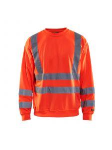 Sweatshirt High Vis 3341 High Vis Rood - Blåkläder