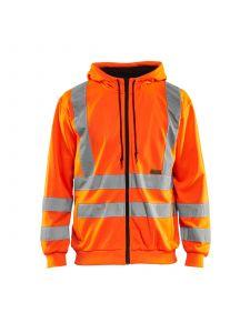 Hooded Sweater High Vis 3346 High Vis Oranje - Blåkläder
