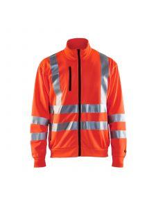 High Vis Sweatshirt 3358 High Vis Rood - Blåkläder