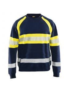 Blåkläder 3359-1158 Sweater High Vis - Marine