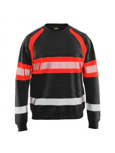 Blåkläder 3359-1158 Sweater High Vis - Zwart