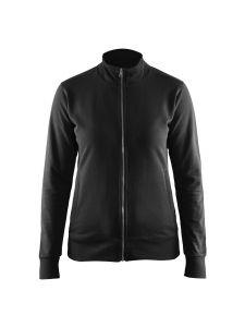 Blåkläder 3372-1158 Women's Sweatshirt - Black