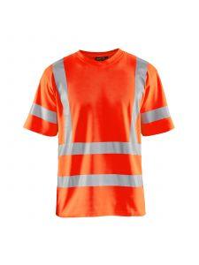 UV T-Shirt High Vis 3380 High Vis Oranje - Blåkläder