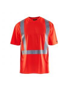 UV T-shirt High Vis 3382 High Vis Rood - Blåkläder