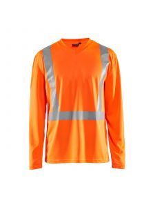 UV T-Shirt High Vis Long Sleeve 3383 High Vis Oranje - Blåkläder