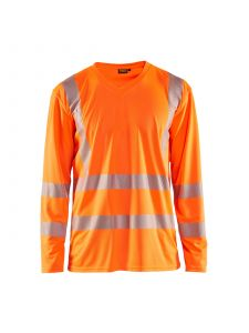 UV T-Shirt High Vis Long Sleeve 3385 High Vis Oranje - Blåkläder