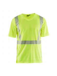 UV T-shirt High Vis 3386 High Vis Geel - Blåkläder