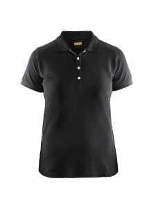 Blåkläder 3390-1050 Women's Pique Polo Shirt - Black