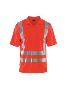 UV-Poloshirt High Vis 3391 High Vis Rood - Blåkläder