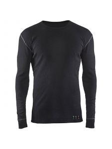 Flame Retardant Underwear Top 3498 Zwart - Blåkläder