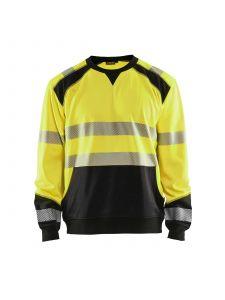 High Vis Sweatshirt 3541 High Vis Geel/Zwart - Blåkläder