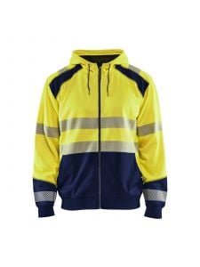 Blåkläder 3546-2528 Hooded sweatshirt - High Vis Geel