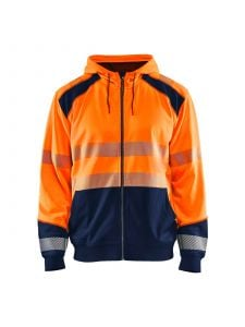 Blåkläder 3546-2528 Hooded sweatshirt - High Vis Oranje