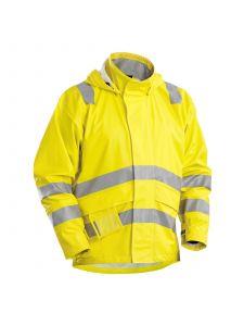 Flame Retardant Rainjacket 4303 High Vis Geel - Blåkläder