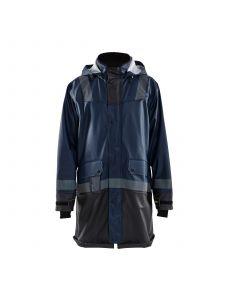 Rain Coat Level 2 4321 Donker Marineblauw/Zwart - Blåkläder