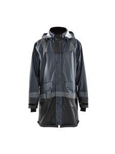 Rain Coat Level 2 4321 Donkergrijs/Zwart - Blåkläder