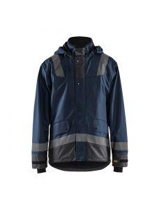 Rain Jacket Level 2 4322 Donker Marineblauw/Zwart - Blåkläder