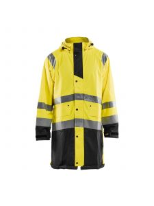 Rain Jacket High Vis Level 1 4324 High Vis Geel/Zwart - Blåkläder
