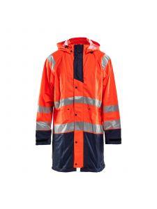 Rain Jacket High Vis Level 1 4324 High Vis Oranje/Marine - Blåkläder