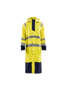 Rain Coat High Vis Level 1 4325 High Vis Geel/Marine - Blåkläder