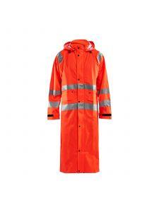 Rain Coat High Vis Level 1 4325 High Vis Oranje - Blåkläder