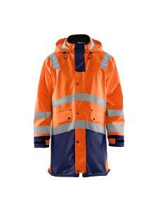 Rain Jacket High Vis Level 3 4326 High Vis Oranje/Marine - Blåkläder