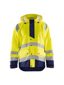 Rain Jacket High Vis Level 3 4327 High Vis Geel/Marine - Blåkläder