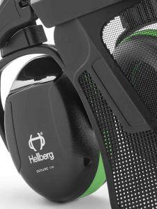 Hellberg SECURE 1H Nylon Gaas Gehoor- en Gezichtsbescherming