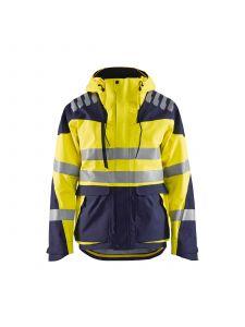 Shell Jacket High Vis Evolution 4490 High Vis Geel/Marineblauw - Blåkläder
