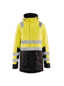 High Vis Parka 4495 High Vis Geel/Zwart - Blåkläder