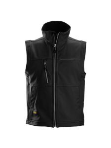 Snickers 4511 Profiling Softshell Vest - Black