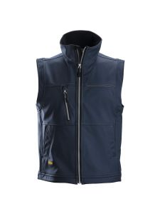 Snickers 4511 Profiling Softshell Vest - Navy