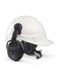 Hellberg Xstream LD Bevestiging Gehoorbeschermers Cap/Helm (Active Listening)