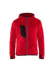 Furry Pile Jacket 4863 Rood - Blåkläder