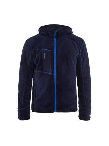 Furry Pile Jacket 4863 Marineblauw/Korenblauw - Blåkläder