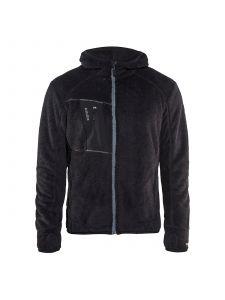 Furry Pile Jacket 4863 Zwart/Zilver - Blåkläder